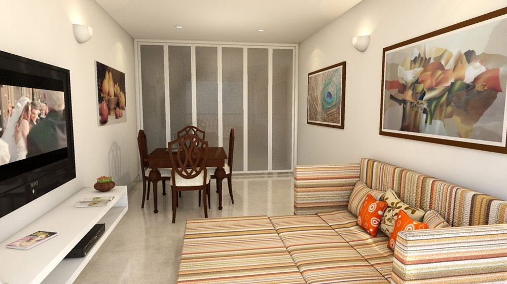interior of flats gallery of model flat view of ncc ivory