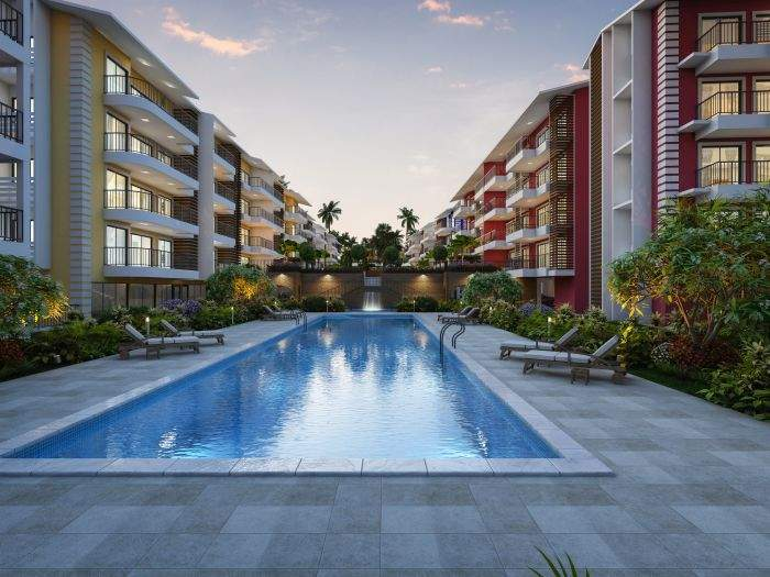 1 and 2 bhk flats for sale in Goa