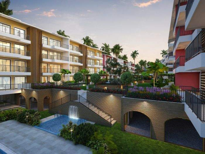 2 bhk flats in Goa